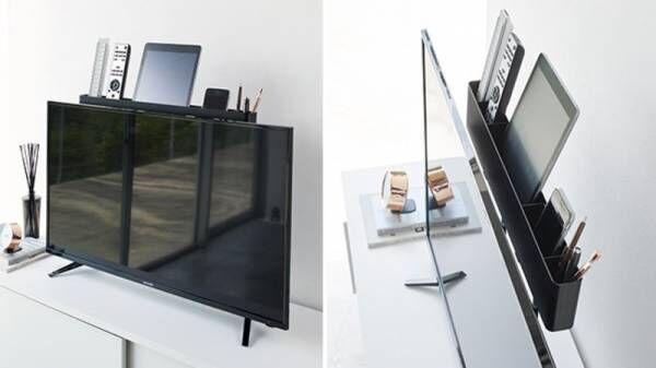 テレビ裏用の収納アイテムや、引っ掛けて傘を収納できる傘立てなど、収納アイテム発売しました。