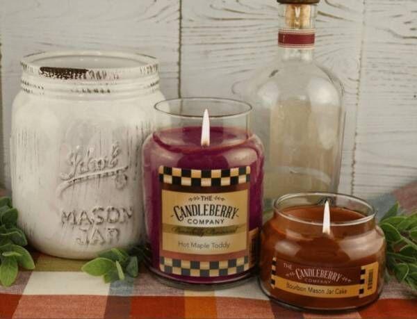 【日本初上陸】《Candleberry キャンドルベリー》発売開始〜あのジムビームも認めた!おいしい香り〜