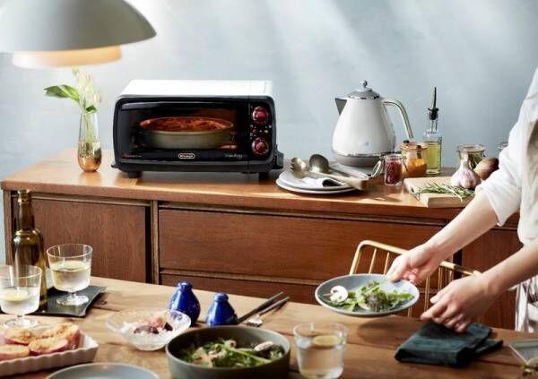デロンギ・キッチン家電 公式サイトがリニューアル!本格レシピを毎月25日に公開!第一弾は、おうちで楽しむピザレシピ