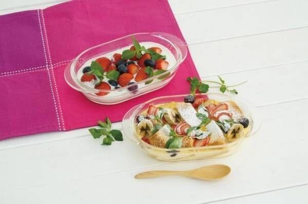 火を使わないからキッチンも快適。HARIO「耐熱ガラス製 オーブン&電子レンジ用食器シリーズ」新登場。