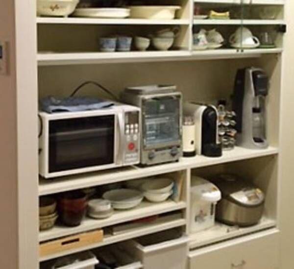 簡単DIY! 置く場所・置くものに合わせた無駄の無いキッチン収納棚!