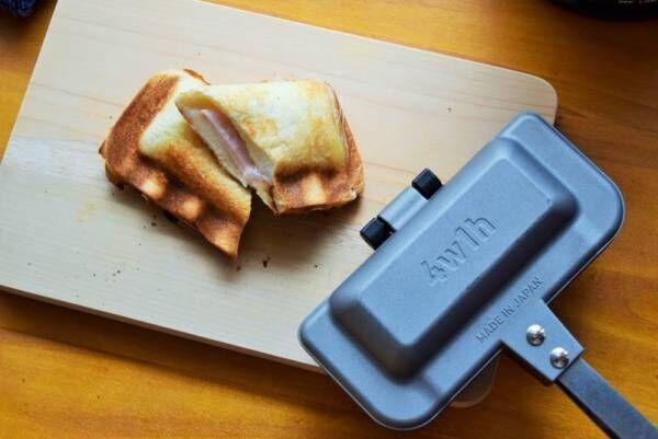 食パン1枚でホットサンドが作れる!幸せな朝の時間を過ごせるキッチン雑貨♡