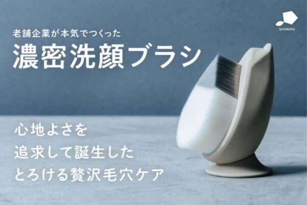 老舗企業が本気で作った濃密洗顔ブラシ「リッチホイップブラシ」アップデート版を応援購入サービスのMakuakeから先行発売