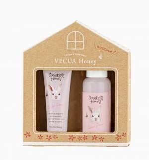 2020年10月27日VECUA Honeyから、肌を潤すハンドクリームとボディミルクのセットで数量限定発売