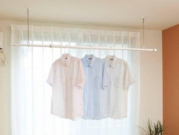 【簡単】冬の乾きにくい洗濯物。コレ設置して解決しました♡