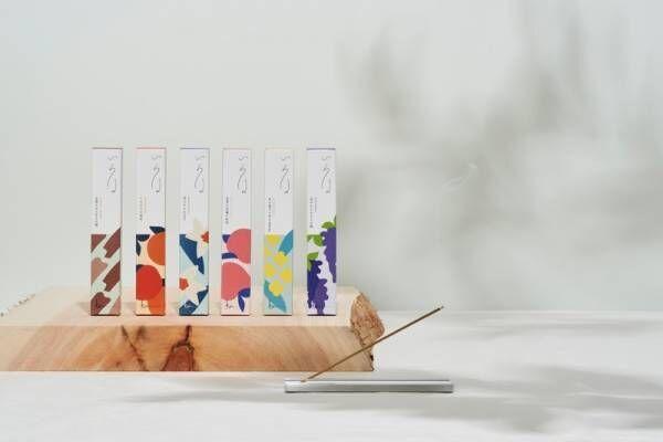 創業445年香老舗の香十が和花、香木をモチーフにしたお香「香十いろは 12種類」を新発売。