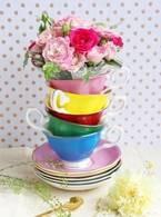 『 Tea cup bouquet -ティーカップブーケ- 』10月15日(木)フラワーショップkarendoより新発売