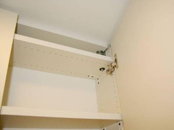 【簡単DIY】廊下にも馴染む!奥行き160mmの薄型壁面棚。