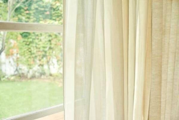 """「オーガニックコットンの""""やさしいカーテン""""」受注開始オーガニックコットンに包まれた暖かなおうち時間をご提案"""