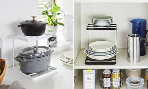 お鍋の収納に便利なスタンドや、おしゃれなアクセサリー収納ケースなど、新商品発売しました。