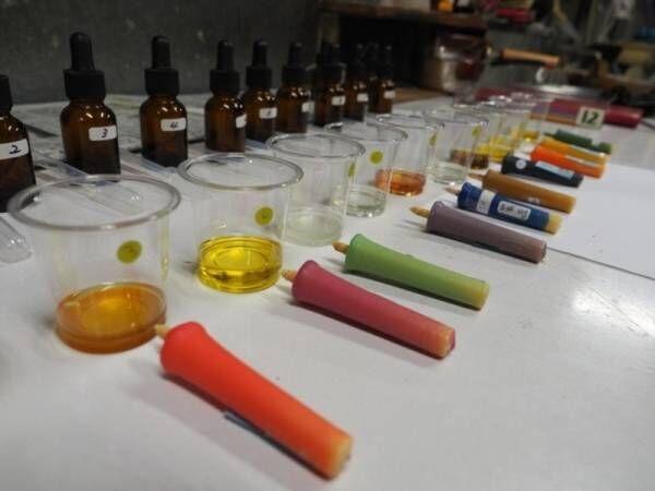 日本の季節の「色と香り」を楽しむ12種類の和ろうそく めいそうROUSOKUに新シリーズ「香りROUSOKU」が誕生