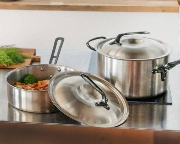 おうちが厨房に!中尾アルミ製作所の家庭用鍋「キングデンジ NEO」Makuakeにて先行発売。IHからアウトドアまで対応