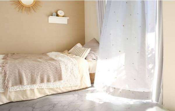 ステイホームを楽しむ!キラキラの星刺繍に心ときめくオリジナルレースカーテン「エトワール」を販売