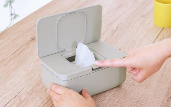 パッキン付きで乾燥を防ぎ、ワンタッチで開く「シートケース」が新発売。