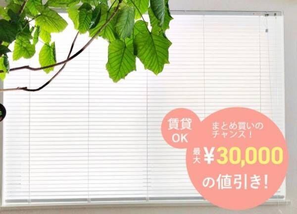 【期間限定】最大30,000円割引!賃貸にも使える、暗いお部屋が憧れの明るいお部屋に大変身♪