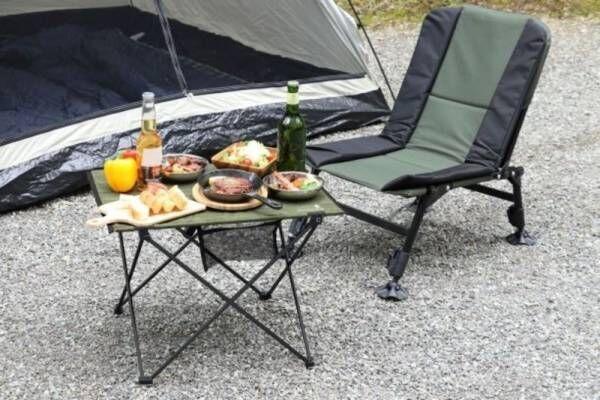 【OUTDOOR MAN】ハンギングチェーンが便利!持ち運び簡単アウトドアテーブルHANGING CHAIN TABLE