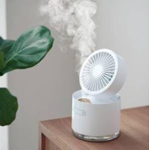 Linocブランドから2種類の扇風機「ミストファン」、「コンパクトファン」が登場!