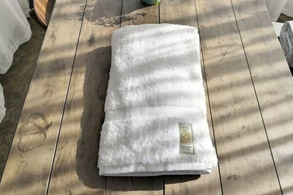 """毎日使うものだから、""""毎日使いたい""""と思うこのタオルを選びました♡"""