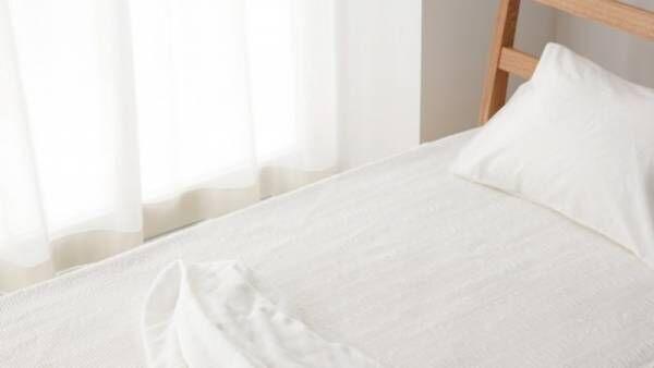 「夏の夜でも、シャリっとさらさら気持ちいい。日本の紡績技術で作る爽やか敷きパッド」の販売について