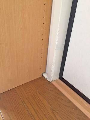 <簡単DIY>壁にピッタリ合わせた畳部屋のテレビラック!