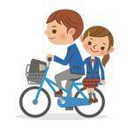 たまに目にする自転車の2人乗り…事故ったら過失割合はどうなる?
