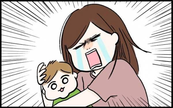 【#46】「だ、抱きしめても、いいですか…!?」わが息子の可愛すぎるワンシーン。by chiiko(ぐっちゃんママ)