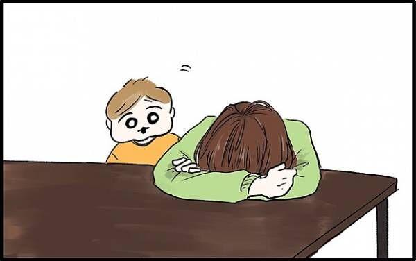 【#57】「育児に疲れた…」そんなママに息子がとった行動とは? by chiiko(ぐっちゃんママ)