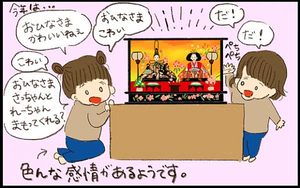 【#8】家族で過ごしたひな祭り!日本の伝統に触れた年子姉妹 byおおもりなつみ