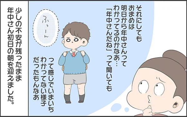 【#11】春から年中さん!新しいスタートに息子は何を思うのか byおかめ