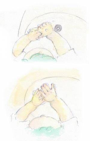 子どもの手を洗うときに、ふと感じたこと。 by yukko 【#忘れたくない瞬間vol.8】