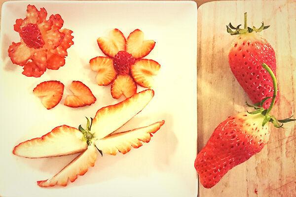 【SNS映え♪】お弁当に入れたら絶対子どもが喜ぶ「イチゴの飾り切り」