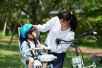 【停車時も転倒事故多数!】幼児用座席付き自転車の事故に注意