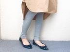 【ユニクロ】大人気「リブメロウレギンス」のM・Lサイズを履き比べ!