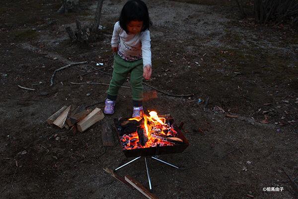 道具は4つだけ!冬だからこそ楽しいアウトドア「焚き火」の始め方
