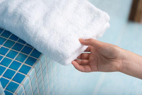 洗ってもとれない!バスタオルのイヤなニオイを取る方法