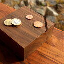 ■「Coin Box」貯金箱 おしゃれ 木製 コインバンク 500円玉 - 木香屋