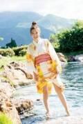 「めざまし」お天気キャスター阿部華也子、無邪気な浴衣姿にドキッ