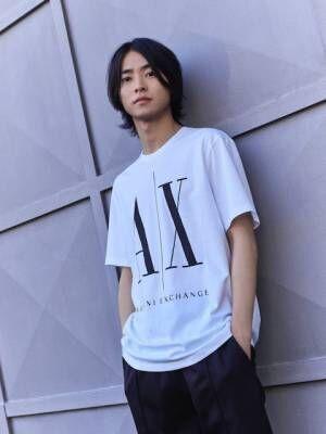 山崎賢人「A X アルマーニ エクスチェンジ」キャンペーンモデル起用 日本人俳優初の抜てき