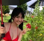 「ミスマガジン2019」グランプリ豊田ルナ、美バスト際立つ水着アザーカット公開