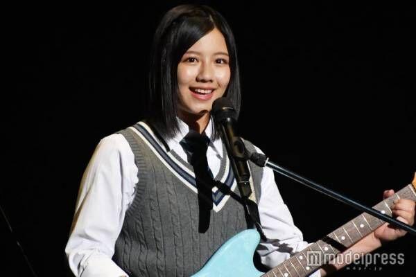 日向坂46渡邉美穂、ギターかき鳴らし開会宣言<未確認フェスティバル2019>