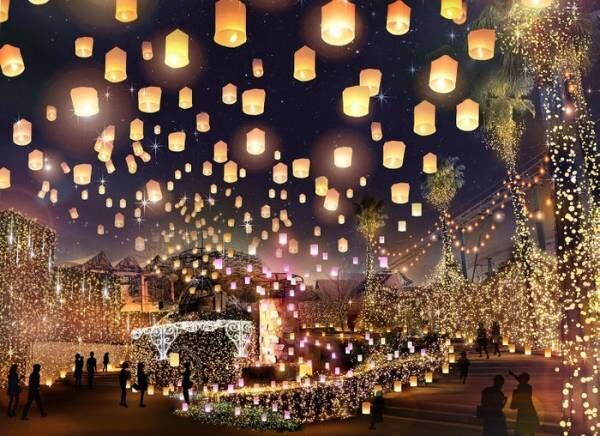 「光の遊園地 ~Time Travel Fantasy~」ひらかたパークの2019年イルミネーション