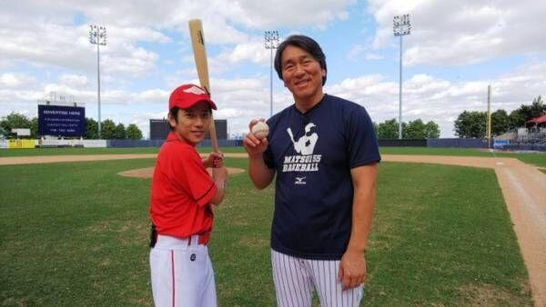 嵐・二宮和也、松井秀喜の野球教室に入門 弾丸NYロケへ「嵐にしやがれ」