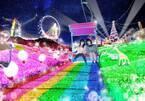 関東三大イルミネーション「さがみ湖イルミリオン」開催 光×音楽×炎×ドローンで演出