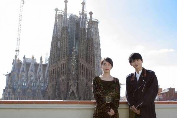吉沢亮&吉岡里帆、シッチェス国際映画祭登場 スペイン降臨で観客熱狂<空の青さを知る人よ>