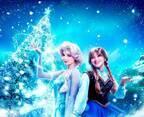 香港ディズニーのクリスマス「アナ雪」の美しい冬の魔法にうっとり