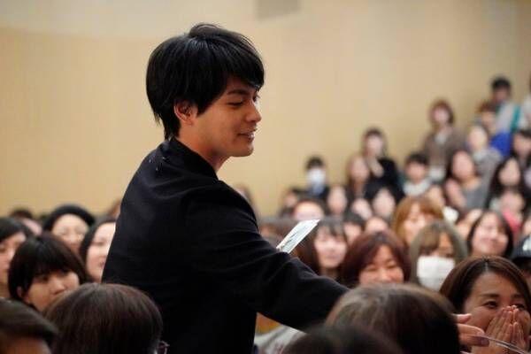 柳楽優弥、30歳は「カンヌ・ベネチア・ベルリンも視野に入れて」ファンミーティングで目標語る<いちごいちえ>