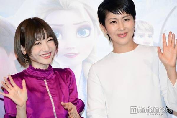 """神田沙也加、松たか子との""""姉妹""""共演に喜び<アナと雪の女王2>"""