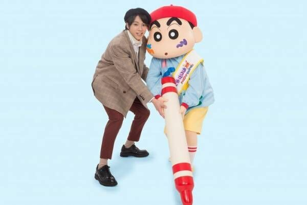 山田裕貴「映画クレヨンしんちゃん」でアニメ声優初挑戦