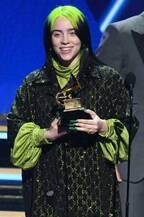 ビリー・アイリッシュ「第62回グラミー賞」主要4部門独占 女性初・史上最年少の快挙