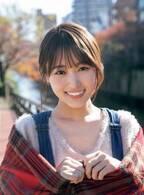 欅坂46菅井友香のほほえみにキュン「少年サンデー」表紙に登場